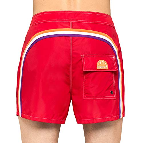 Sundek Costume Low Rise 14 True Red, 31 US