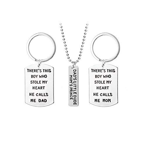 Gepersonaliseerde accessoires, halskettingen, Europese en Amerikaanse sieraden Vaderdag Liefde Sleutelhanger, Moederdag Liefde Ketting AliExpress, Thumby A1649