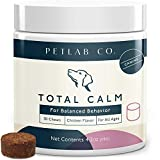 ||SUPPORTS RELAXATION ||: The Petlab dog calming chews have been specially formulated for those dogs who are predisposed to nervousness, discontentment or hyperactivity. || MAINTAINS CALMNESS ||: Our hemp chews have also been selected to promote pos...