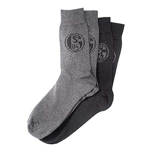 FC Schalke 04 Business-Socken, 2 Paar 39-42