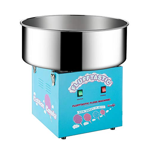 Sale!! 6315 Great Northern Popcorn Flufftastic Cotton Candy Machine Floss Maker With Cart (Renewed)
