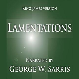 The Holy Bible - KJV: Lamentations audiobook cover art