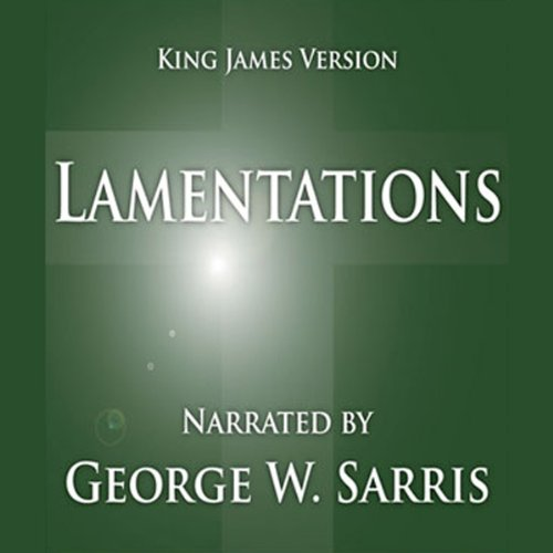The Holy Bible - KJV: Lamentations audiobook cover art