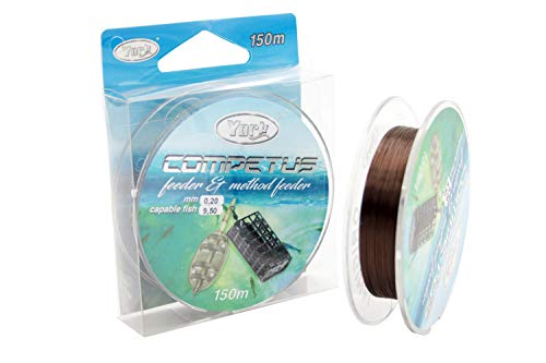 Angelschnur York Competus Method Feeder 0,16-0,30mm 150m Monofile (0,20mm / 9,5kg)
