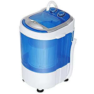 HomGarden 7.9lbs Capacity Washing Machine for Compact Laundry
