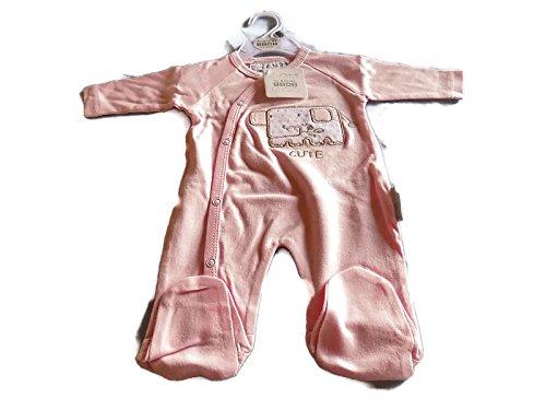 Nursery Time - Combinaison - Bébé (fille) 0 à 24 mois rose rose 0-3mths