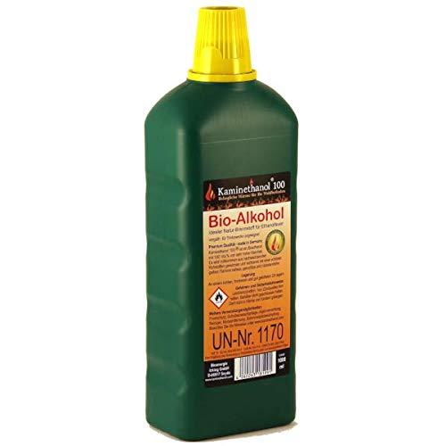 12 x1 L Flaschen Bioethanol 100%, Bio Alkohol 10 + 2 Liter Brennstoff für Kamin