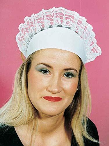Servierhaube Kellnerin Mütze Karneval Fasching neu