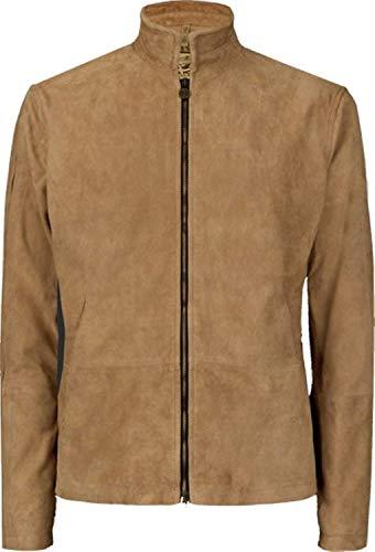 Stylish Jackets Spectre James Bond Marokko Daniel Craig Brown Wildlederjacke (Large)