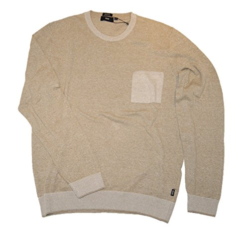 Boss Black Pull-over Lonero Beige clair 279 - Beige - L