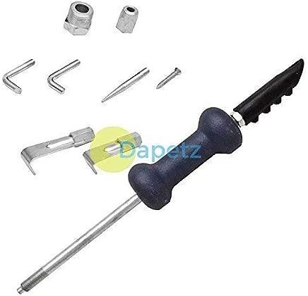 Dapetz 9Pc 5Lb Dent Puller Slide Hammer Kit Body Shop Car Repair Garage Tool