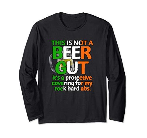 Beber no una cerveza Cerveza intestinal Colores irlandeses Manga Larga