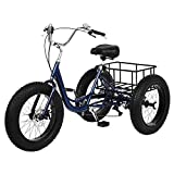Best Adult Tricycles - Adult Tricycles for Men and Women:Fat Tire Three Review