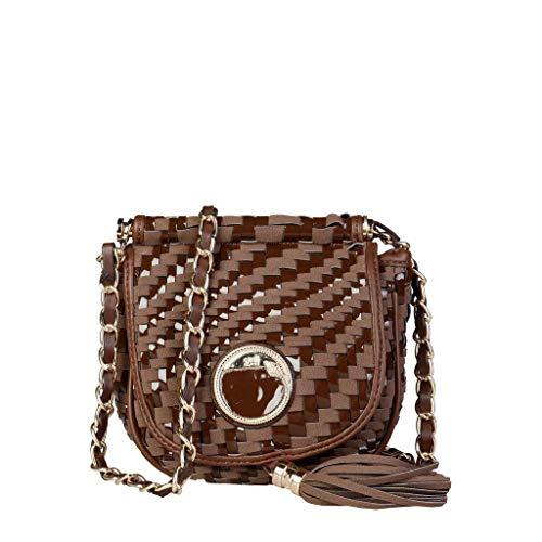 Roberto Cavalli Damen C41PWCBU0012 Handtasche, braun, handbag
