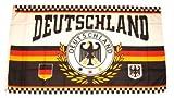 Fahne / Flagge Deutschland Fußball NEU 150 x 250 cm