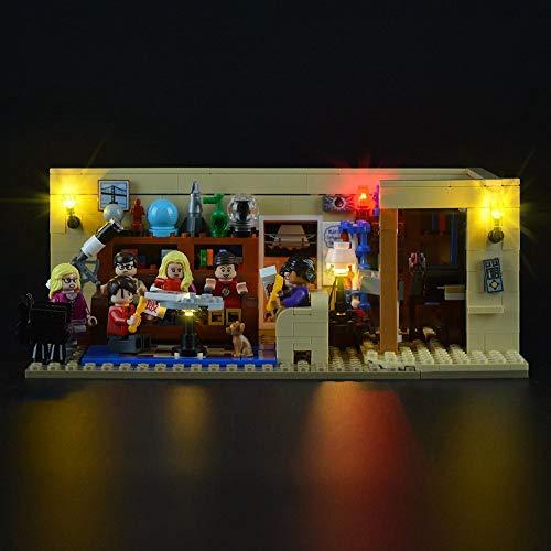 WDLY Kit De Iluminación LED para Las Ideas De La Serie The Big Bang Theory - Compatible con Lego 21302 Bloques De Construcción del Modelo No Incluye El Conjunto De Lego