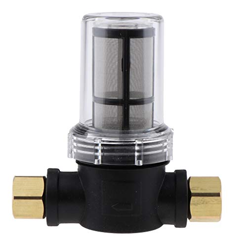 Amuzocity Gartenschlauch Filter Waschmaschine Wasser Inline Filter Garten Hochdruckreiniger - 100 Maschen