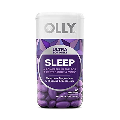 OLLY Ultra Strength Sleep Softgels, 6 mg...