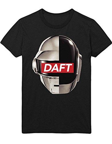 T-Shirt Daft B385915 Schwarz XXL