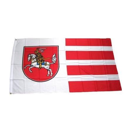 Qualitäts Fahne Flagge Dithmarschen 90 X 150 Cm Mit Verstärktem Hissband Sport Freizeit