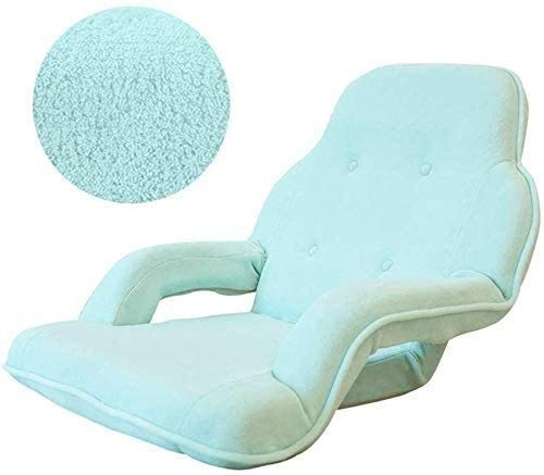 Aoyo Faules - Divano con braccioli, sedia pieghevole per computer singolo, poltrona da letto, sedia a sdraio, disponibile in vari colori