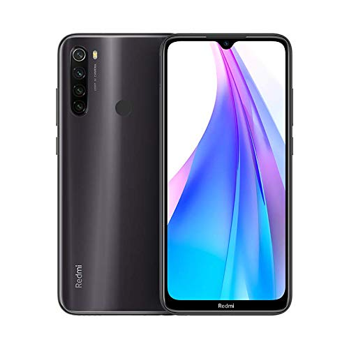 Xiaomi Redmi Note 8T Smartphone (16cm (6.3 Zoll)) FullHD+ Display, 32GB interner Speicher + 3GB RAM, 48MP Vierfach-KI-Rückkamera, 13MP Selfie Frontkamera, Dual SIM, Android 9, Grau [Deutsche Version]
