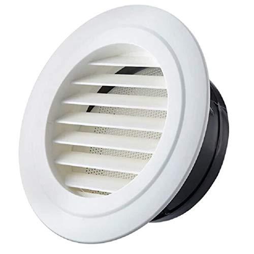 YOUCHOU Cubierta de Rejilla de ventilación Redonda de diámetro Cubierta de ventilación de Rejilla en ABS de Primera Calidad con Malla antiinsectos para conductos (Size : Caliber-150mm)