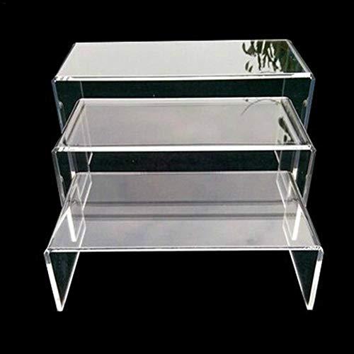 Dekotreppe 3-Stufig Aus Glasklarem Acrylglas Plexiglas