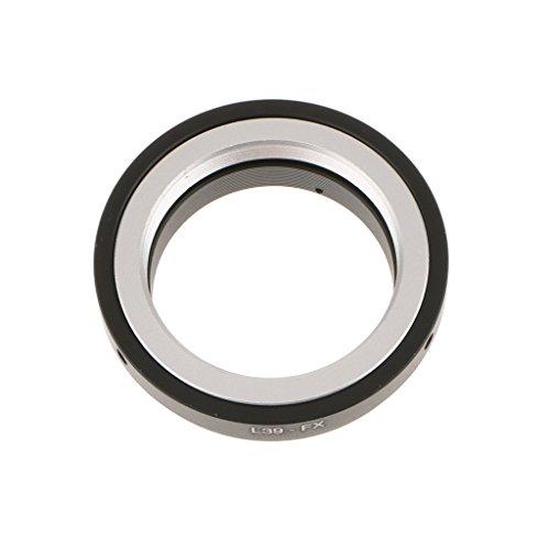 MagiDeal Adaptador de montura de objetivo Leica L39/M39 a Fuji X-PRO1 M39-FX de 52 mm