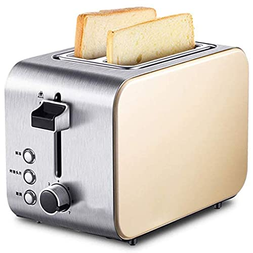 LITINGT Toaster Toaster 2 Slice - 7 Shade Settings, Defrost/Reheat/Cancel Function, Removable Crumb Tray, Stainless Steel Extra Long and Wide Slots Toaster for Bagels & Other Thick Bread, 750W (Colo