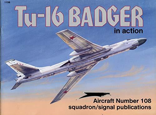 Tu-16 Badger in Action (AIRCRAFT, Band 1108)