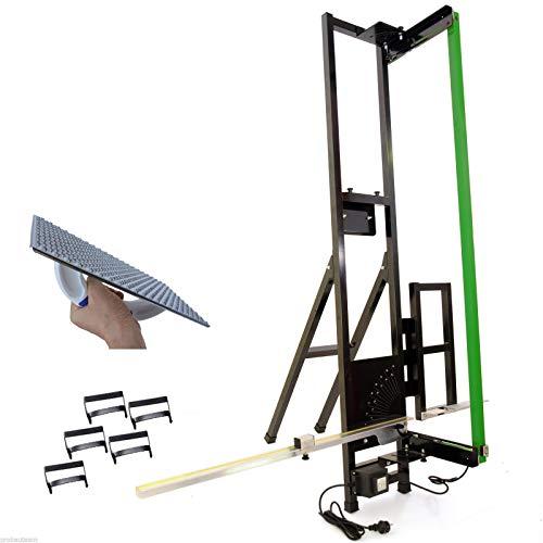 ALUCUTTER Taglia polistirolo/Taglierina a filo caldo per pannelli isolanti con accessori (tipo: Lunghezza sezione 1.350 mm)