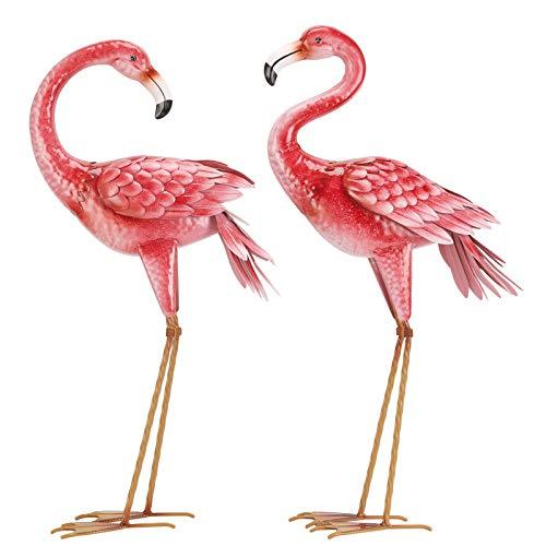 Flamingo Garden Statues