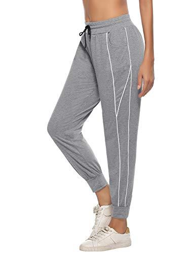 iClosam PantalóN Deportivo De Mujer Casual Suave PantalóN De Yoga Mujer Pant Sport Trousers