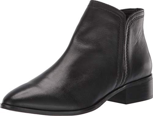 ALDO Damen Women's Casual Ankle Boots with Block Heels, Kaicien in Black, Size 5 Stiefelette, Schwarz glatt, 35 EU