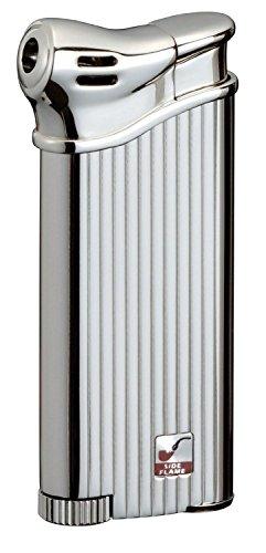 SAROME PSP3-11 Pfeifenfeuerzeug, Vertical Diamond Cut, Piezo