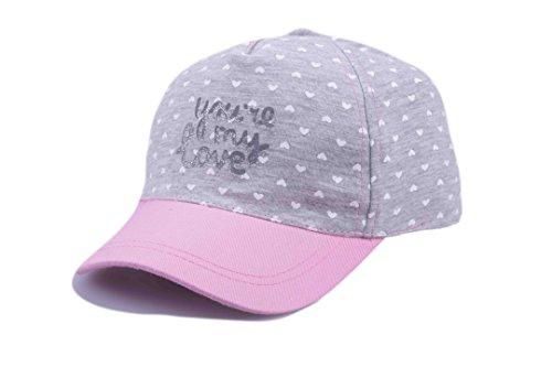 Bienzoe Mädchens Baumwoll Baseball verstellbare Sonnenblende Flache Hut