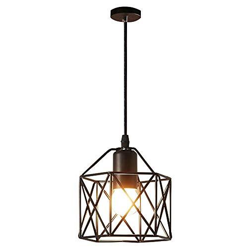 Éclairage industriel Antique métal pendentif plafond lumineux plafond abat-jour metal de lampe d'eclairage de pendentif pour le couloir