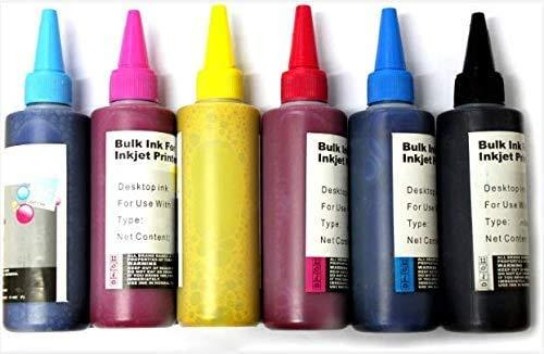 Tasse, Nachfülltinte für Tintenstrahldrucker, CISS, Thermotransfersublimation 100ml Cyan (C)