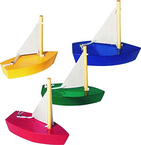 Goki: Mini-Segelboot (Modell sortiert)