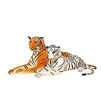 ぬいぐるみ タイガー とら リアル おもちゃ もちもち ふわふわ もこもこ 快適 横向き寝 人気 抱き心地よい 肌に優しい お誕生日 プレゼント こどもの日 友達 インテリア 自宅 ソファ 置物 丈夫 耐久性 生々しい表現