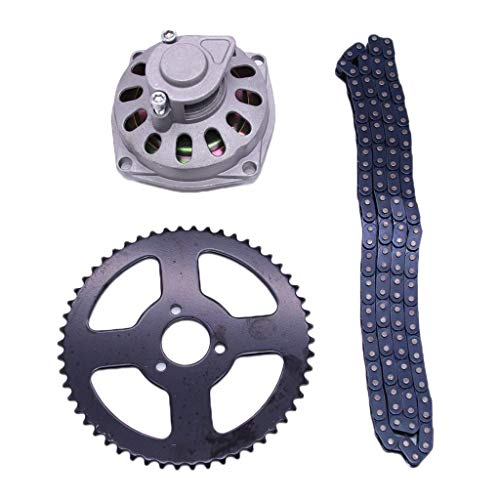 TISHITA Motorcycle Sprocket Kit, Replacement Parts, 54T 26mm Rear Sprocket And T8F Chain