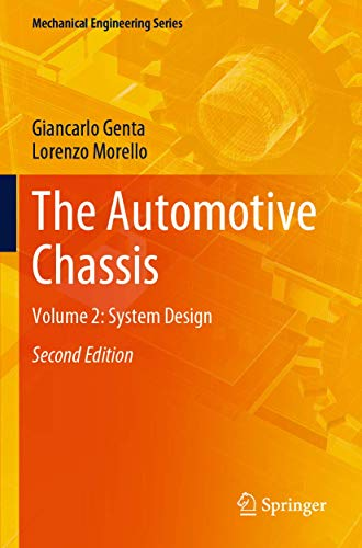The Automotive Chassis: Volume 2: System Design (Mechanical Engineering Series)