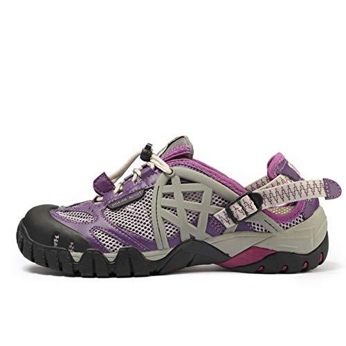 XJWDNX Mannen Outdoor Sneakers Ademende Wandelschoenen Grote Maat Mannen Vrouwen Outdoor Wandelen Sandalen Mannen Trekking Trail Water Sandalen