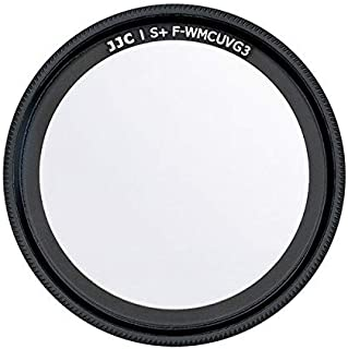 JJC Lens UV Filter for Ricoh GR III GRIII & GR II GRII Attach with Eco-Friendly & Removable 3M Adhesive 99.5% Light Transm...