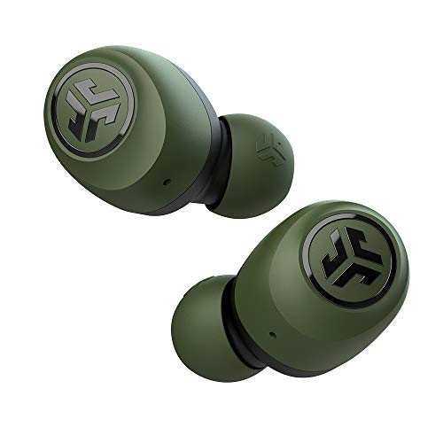 JLab Audio Go Air True Wireless Bluetooth Earbuds + Charging Case | Green | Dual Connect | IP44...