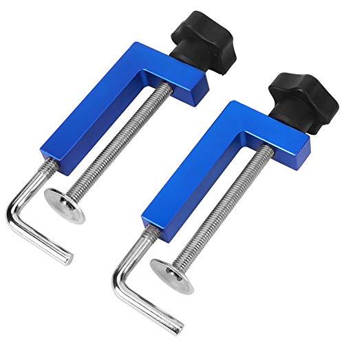 Abrazaderas para vallas, herramienta de carpintería prácticamente buena Abrazadera de función de aleación de aluminio de alta calidad para embalar proyectos de muebles y gabinetes de