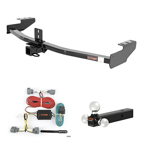 Why Should You Buy CURT Trailer Hitch, Wiring & Multi-Ball Ball Mount for 06-14 Honda Ridgeline