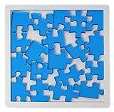 ZYuan Puzzle Rompecabezas Nivel 10 Nivel de dificultad Puzzle Cerebro Desafío Inteligencia Juguetes de Inteligencia Transparente Perfil de plástico para niños Adultos y Adolescentes descompresión
