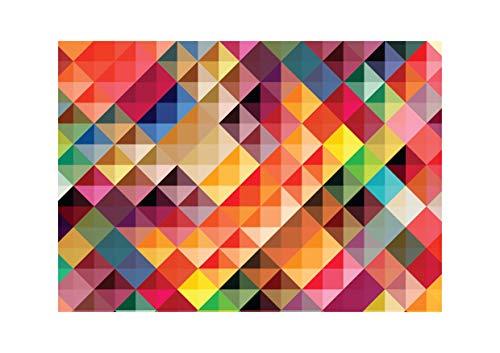Tovagliette di carta [Confezione da 50] dimensione DIN A3 (42 x 29.7 cm) Usa e Getta. Riciclabile Monouso Antimacchia. Design Multicolore
